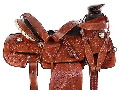 "CORRIENTE RANCH CUTTER Saddle 15"" - $650 00 