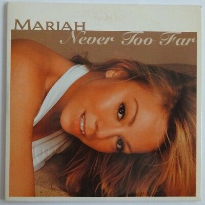 Mariah Carey : Never Too Far (Promo Edit) - [ Cd Single ]