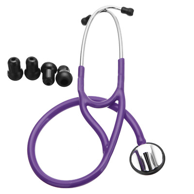 "Professional Cardiology Stethoscope 27"" Tunable Diaphragm"
