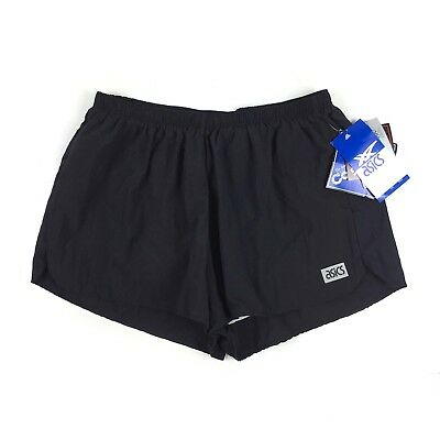 Vintage NWT Deadstock Asics Lined Running Shorts Made In USA SZ Large