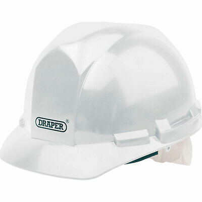 Draper Hard Hat Safety Helmet White