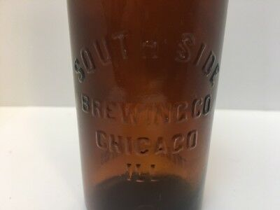 South Side Brewing Co. Frederick Bros. Chicago ILL Pre Ambrosia Beer Bottle 12oz