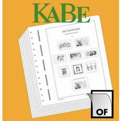 KABE OF Supplement Federal Republic of Germany Stamp Booklets 2017