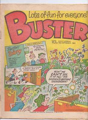 Buster Comic. 10th Sept 1983