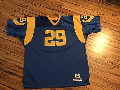 reputable site 1ae77 02785 discount code for mitchell and ness st.louis rams 29 eric ...