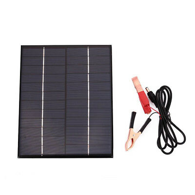 Solar Panel 12V Battery Charger System Waterproof Polycrystalline Storge Energy