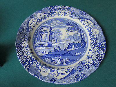 "Spode Italian Pattern Blue Ware Collector Plate10"" {* Bluebx2]"