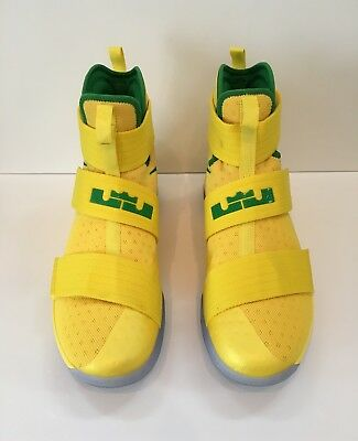 1a49bca61a3 BRAND NEW - Team Issued - Nike Lebron Soldier 10 Oregon Ducks PE (Size 12