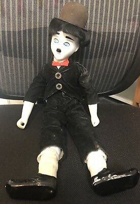 Vintage Charlie Chaplin China Toy Doll Collectable