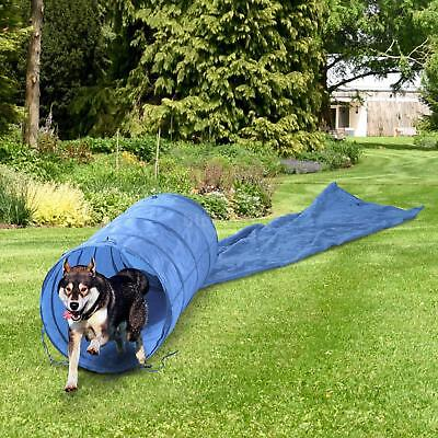 16.4' Agility Training Tunnel Pet Dog Play Outdoor Obedience Exercise Equipment