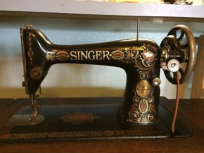 40 ANTIQUE SINGER Sewing Machine And Table 4040 PicClick Stunning 1921 Singer Sewing Machine