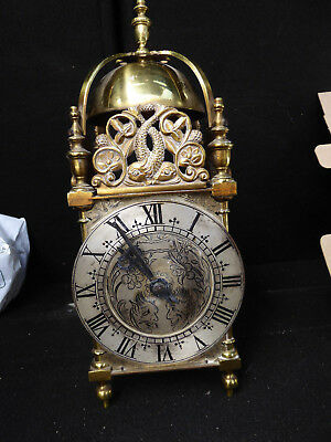 Lantern Clock With Mercer Mechanism Approx 30cm Tall