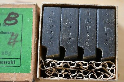 """1-8 NC  D 1"""" geometric die head thread chasers - excellent condition"""