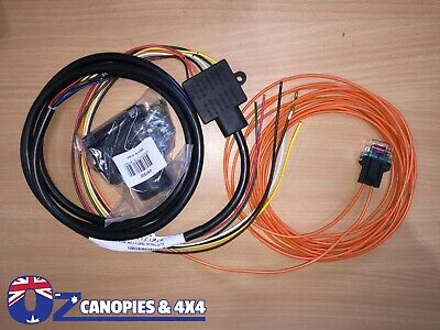 TOYOTA HILUX SR SR5 WORKMATE TOWBAR TRAILER WIRING HARNESS LOOM 2005 to current