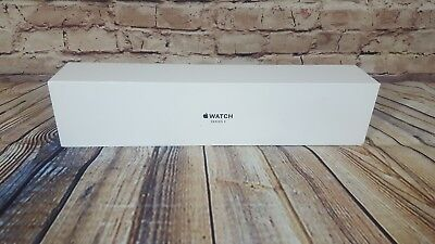 Apple Watch Series 3 38mm Space Gray/ Black Sport Band MQKV2LL/A **BOX ONLY**