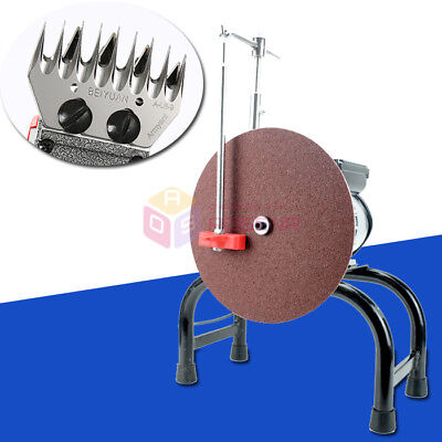Electric Sheep Clipper Blade Grinder Shearing Scissors Knife Grinding Machine