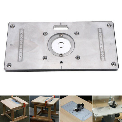 Aluminum router table insert plate 235mmx118mm for woodworking aluminum router table insert plate 235mmx118mm for woodworking benches tool greentooth Image collections