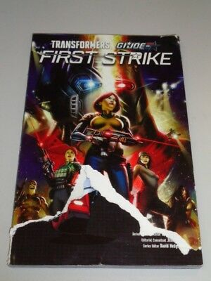 First Strike Transformers GI Joe IDW Books (Paperback)< 9781684051229
