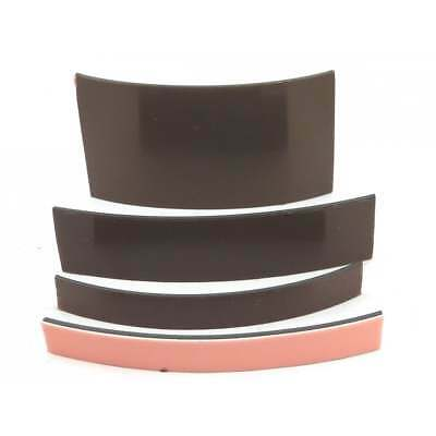 Trial pack self adhesive magnetic strip 10cm long; choice of width craft fridge