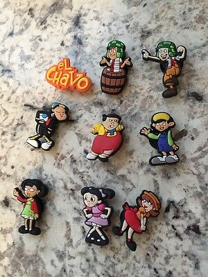 El Chavo CakeTopper ~ Hair Bows Tops ~Party Gift ~ Free Shipping U.S.A.