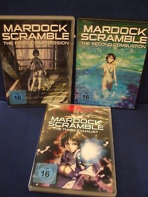 DVD Mardock Scramble  1-3 Anime