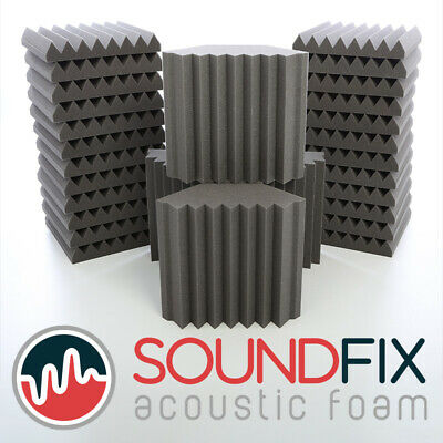 Acoustic Foam Tiles & Optional Bass Trap Kit – Professional Sound Treatment Foam
