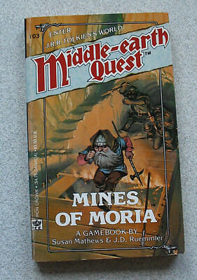 Middle-earth quest - MINES OF MORIA - Solo Rollenspielabenteuer