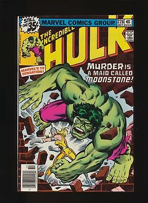 Incredible Hulk #228 (Marvel 1978)! 1st Moonstone! Key Book! See Scans And Pics!