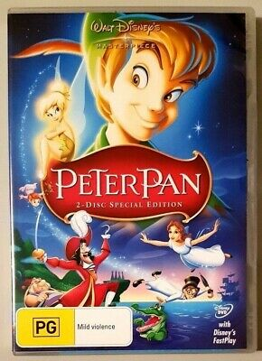 Peter Pan - 2 Disc Special Edition (Walt Disney) DVD **BRAND NEW** (Region 4)