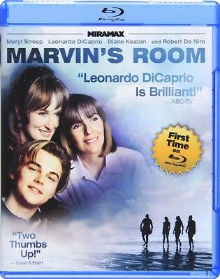 Marvins Room (Blu-ray Disc, 2013) LN Rare OOP Out of Print & HTF Region A