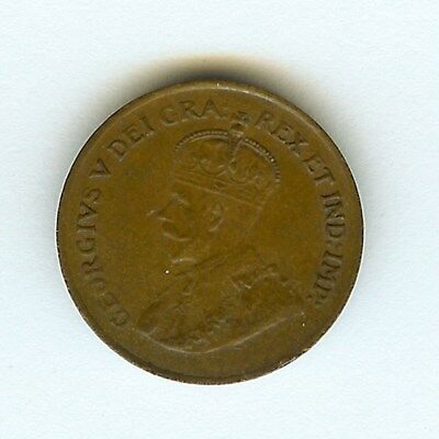 Canada 1920 Cent  Near Choice Uncirculated Brown