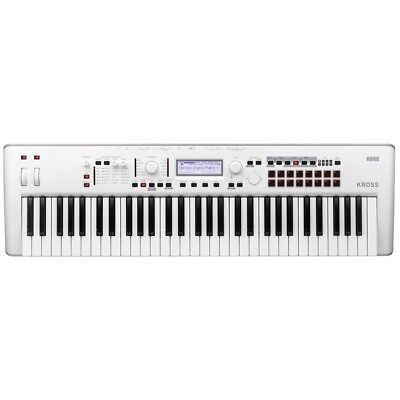 Korg Kross 2-61 White LIMITED EDITION