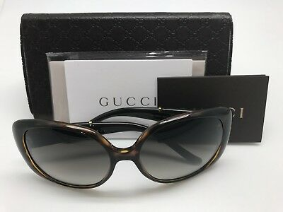 bd19ee49d24b8 GUCCI GG3646S SHINY Black 60-16-125 Women s Sunglasses Italy New ...