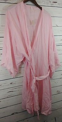 0c6e9fc714d Pink Blush Maternity Nursing and Delivery Robe Light Pink Womens Plus Size  2X
