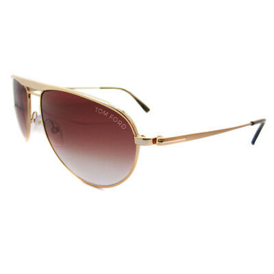 f53e9f528 TOM FORD SUNGLASSES William 0207 28F Gold Brown Gradient - EUR 202 ...
