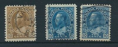 Canada Georg V. Issues of 1912 - 1925 4 Scans 31 stamps