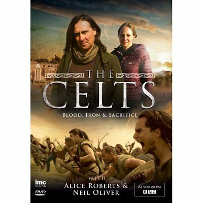 DVD - Celts. The - Blood Iron and Sacrifice - Alice Roberts, Neil Oliver
