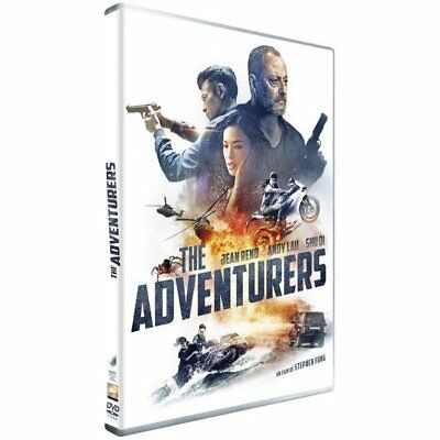 DVD - The Adventurers - Jean Reno, Andy Lau, Shu Qi, David Bowles, Éric Da Costa