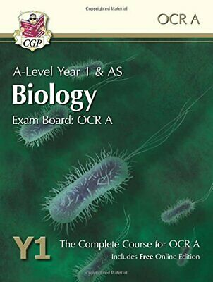 A-Level Biology for OCR A: Year 1 & AS Student Book with Online ... by CGP Books
