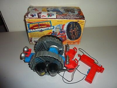 action heroes troop and prison transporter marchon inc 1984 super powers
