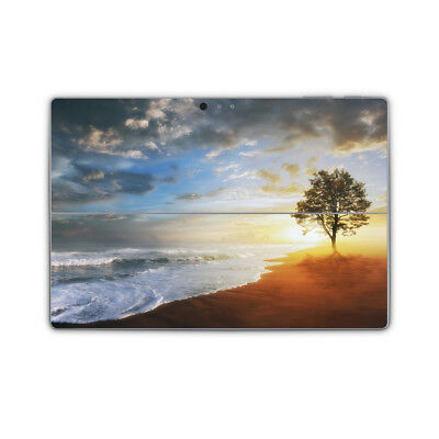 Ocean Beach Tree Vinyl Skin Sticker Wrap Printed Cover to fit Surface Pro