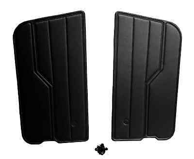 Brand New Jeep Wrangler YJ 1987-1995 Black Door Panels Hardware Clips Included