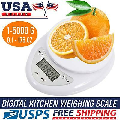 Digital Kitchen Scale Food Cooking Weight in Pounds, Grams, KG, and Ounces