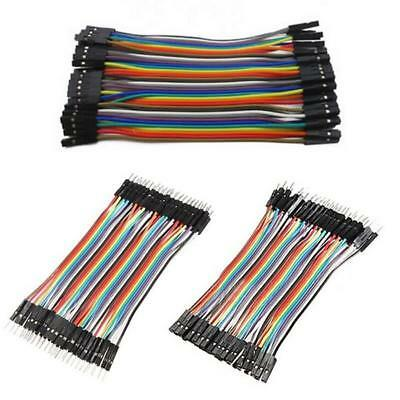 120pc 10cm Male to Male Male to Female Female to Female Dupont Jumper Wire Cable