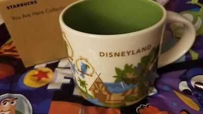 Disney Parks Starbucks You Are Here  Disneyland Adventureland Mug