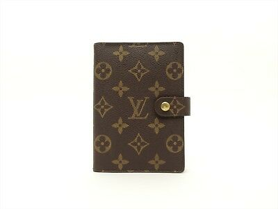 Louis Vuitton Authentic Monogram Agenda fonctionnel PM Diary cover Auth LV