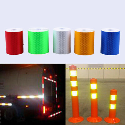 3m Conspicuity Light Reflective Safety Warning Tape Car Stick Safe Sign Sticker