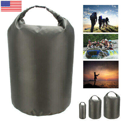US  Waterproof Dry Bag Sack Pouch Boating Kayaking Camping Rafting Hiking Bag