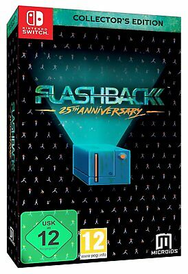 Flashback Collector's Edition (Nintendo Switch) BRAND NEW SEALED
