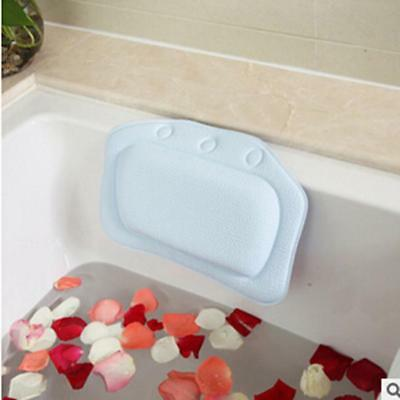 Luxury Backrest Spa Pillow With Suction Cups For Bathroom Relax Comfortable 8C
